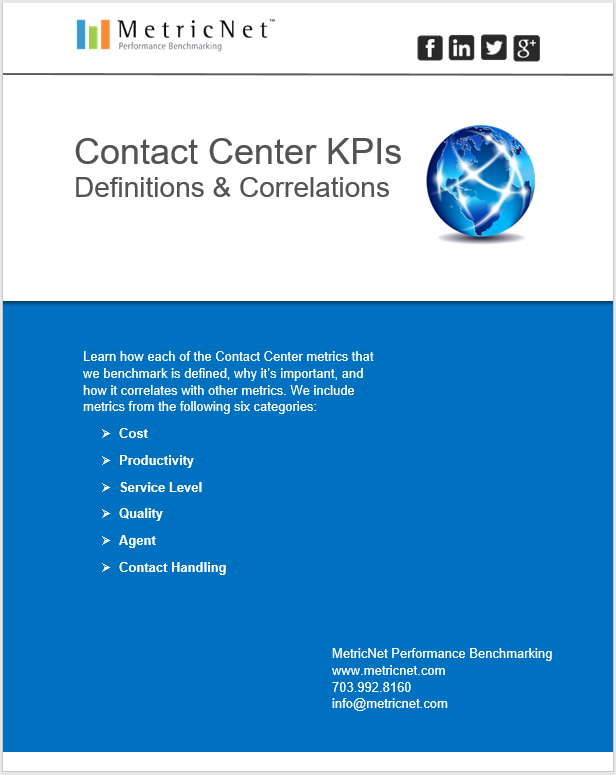 Call Center Metrics | An Introduction eBook from MetricNet